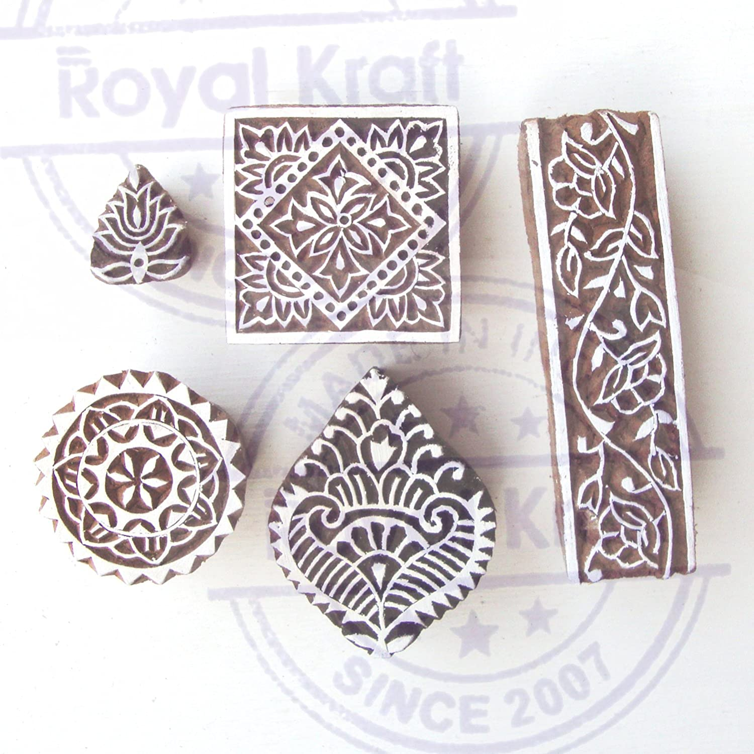 How to make your own hand carved stamps