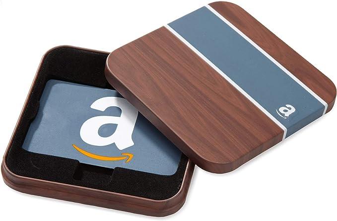 Tarjeta Regalo Amazon.es - Estuche Madera: Amazon.es: Cheques Regalo