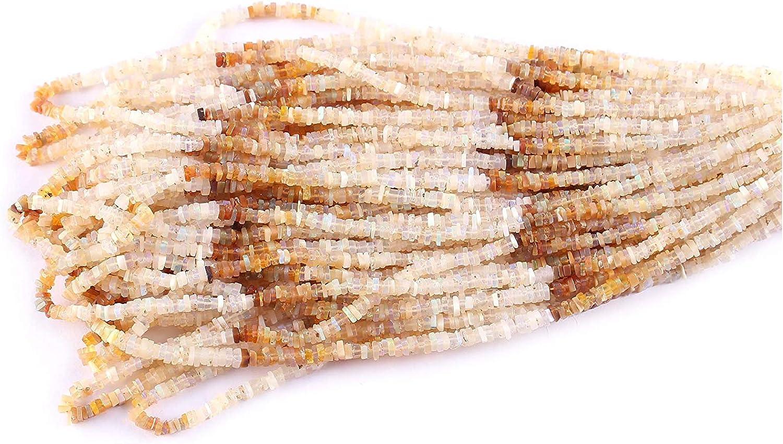 Neerupam Collection Natural Opale di Fuoco etiope heushe Plano Cuentas Sueltas Piedras Preciosas Preciosas para la joyería Que Hace la Pulsera Collar Colgante | Perlas de Piedras Preciosas Sueltas