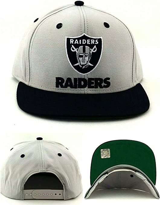 Reebok - Gorra de fútbol Retro de Los Angeles Raiders NFL: Amazon ...