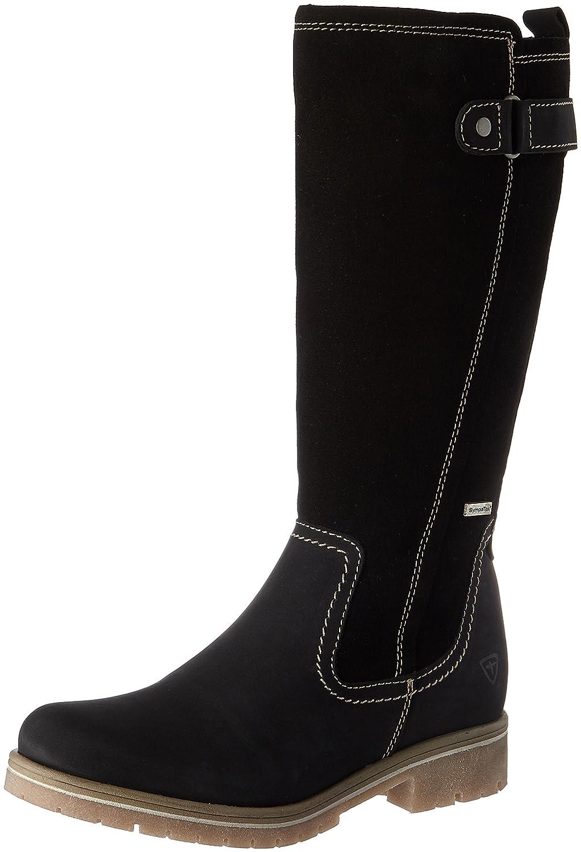 Negro (negro) Tamaris 26695, botas para mujer