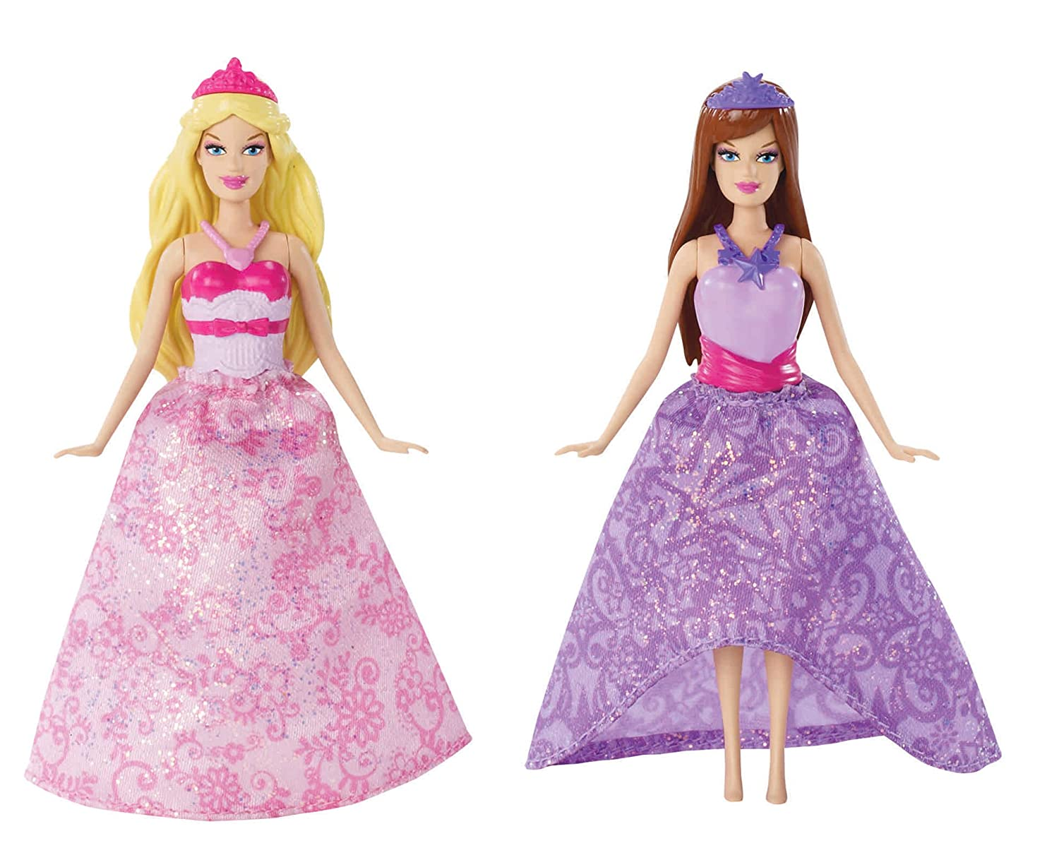 amazon com barbie the princess and the popstar mini doll giftset