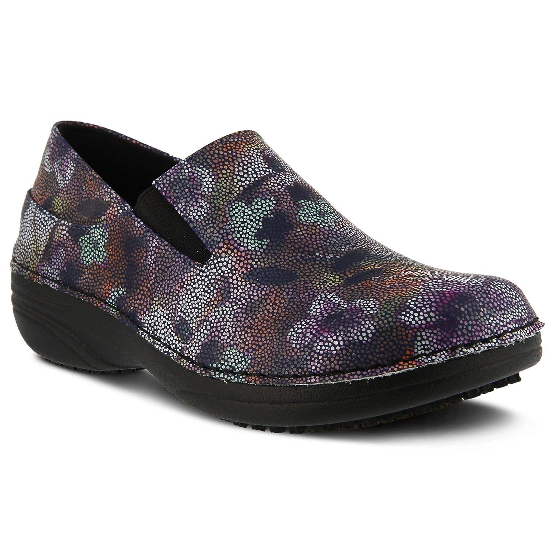 Spring Step Professional Womens Ferrara-Mosaic Synthetic Clog
