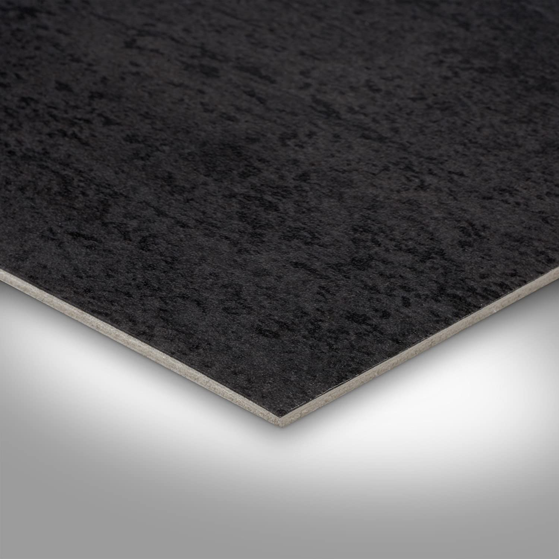 300 und 400 cm Breite Meterware Fliesenoptik anthrazit schwarz Vinylboden PVC Bodenbelag 200 Variante: 2 x 2m