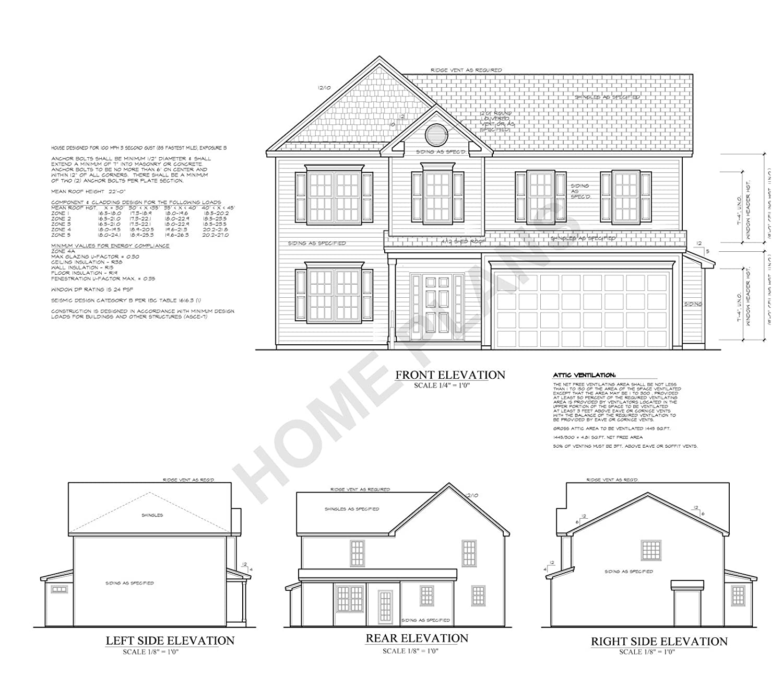 Amazoncom Sq Ft Htd Unht Plan P 1544 Homehouse Arch Struc