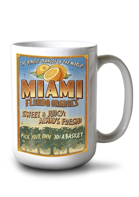 雑誌で紹介された マイアミ、フロリダ州 Giclee – オレンジGrove Vintage Sign LANT-44310-36x54 36 36 x 54 Giclee Print LANT-44310-36x54 B077RY5MXS 15oz Mug 15oz Mug, 【SEAL限定商品】:bf46c344 --- cursos.paulsotomayor.net