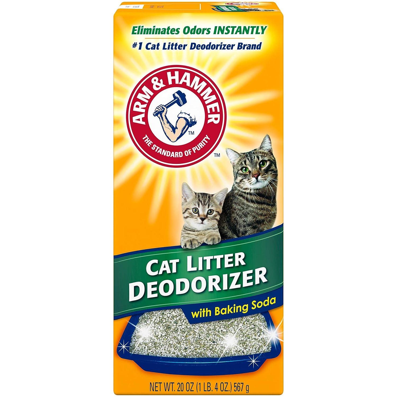 Arm & Hammer Desodorante para Gatos con bicarbonato de Sodio, 20 onzas