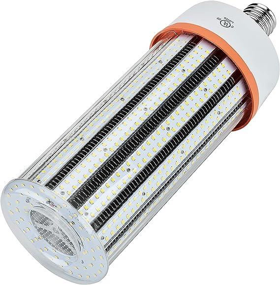 30 Watts LED Corn Light E39 Mogul Base 3,000K Warm White Bulb Garage Backyard and Home Corn Lamp Bright Household Lighting Open Semi-Closed Enclosed Fixtures