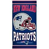 "NFL New England Patriots Fiber Beach Towel, 30"" x 60"""