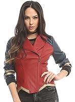 Her Universe DC Comics Wonder Woman Armor Faux Leather Jacket