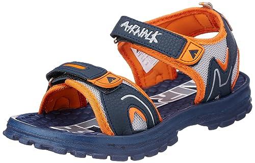64129bb09 Airwalk Boy s Eva Sandal Orange Synthetic Sandals and Floaters - 5C ...