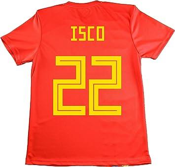 LICECIA DE LA REAL FEDERACION DE FUTBOL ESPAÑOLA Camiseta ISCO ...