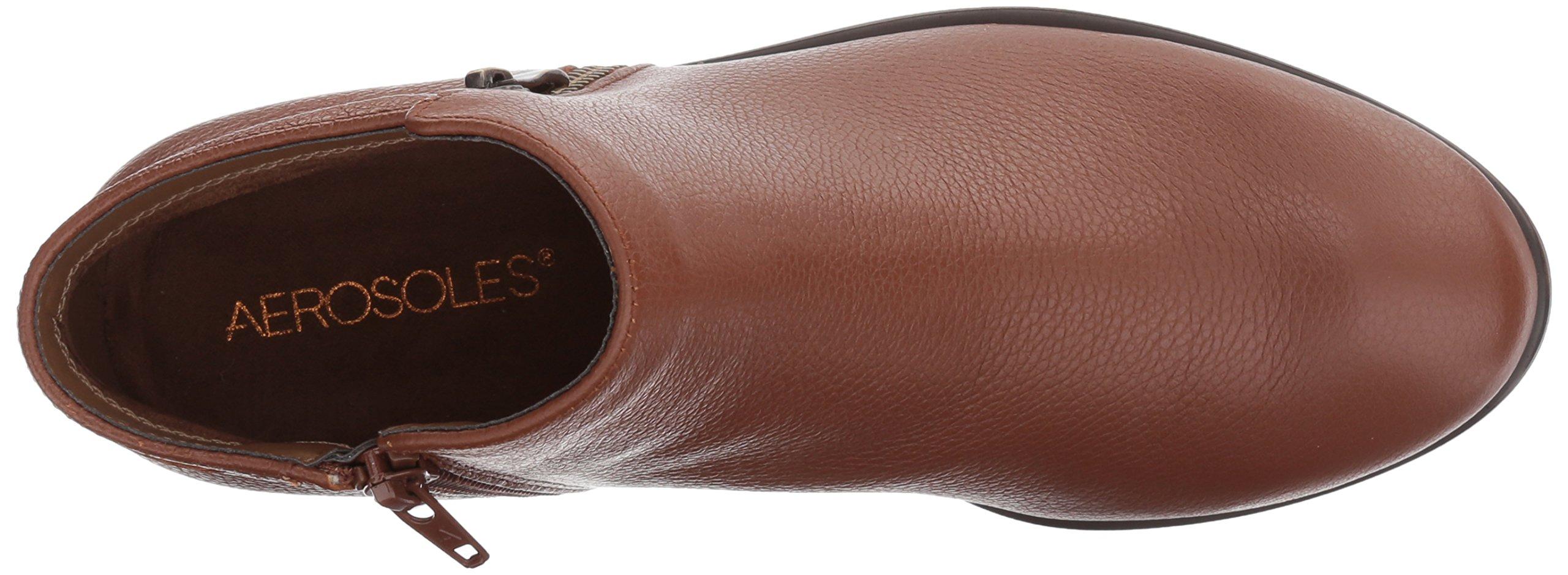 Aerosoles Women's Mythology Boot, Dark Tan Leather, 9 W US by Aerosoles (Image #8)