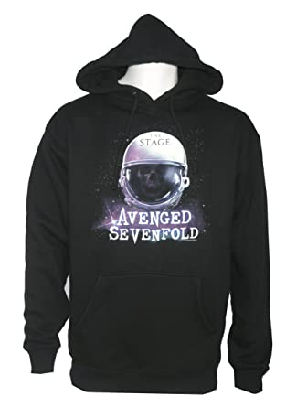 c4c911dfea1b FEAMerch Avenged Sevenfold Men s Space Helmet Pullover Hoodie at ...