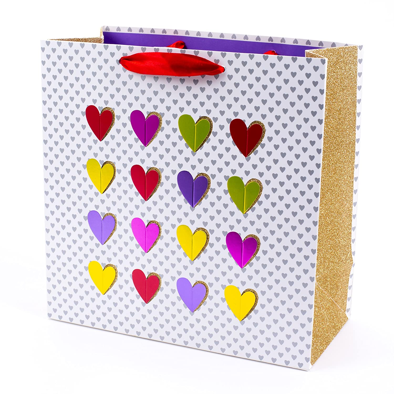 Hallmark Signature Large Gift Bag (Multi Heart) 5VXS1711