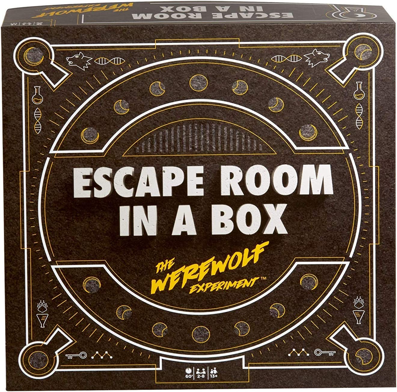 Amazon Com Escape Room In A Box The Werewolf Experiment Toys Games