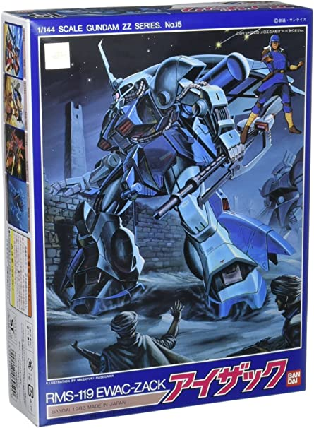 Zz Gundam 15 RMS-119 Ewac Zack 1//144 Kit modelo