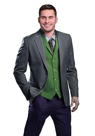 DC Comics The Joker Slim Fit Suit Jacket - Authentic Dark Knight Suit Coat - 38R  sc 1 st  Amazon.com & FunComInc DC Comics The Joker Slim Fit Suit Jacket - Authentic Dark ...