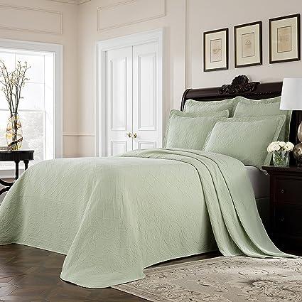 1pc 102 x 120 Oversized Verde Reina Colcha Piso, algodón, Drapes ...