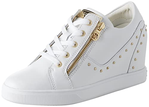 Guess Footwear Active Lady, Zapatillas para Mujer, Blanco White, 41 EU: Amazon.es: Zapatos y complementos
