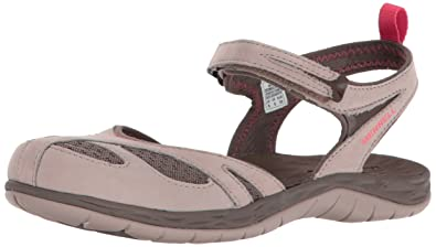 Merrell Women's Siren Wrap Q2 Athletic Sandal, Aluminum, ...