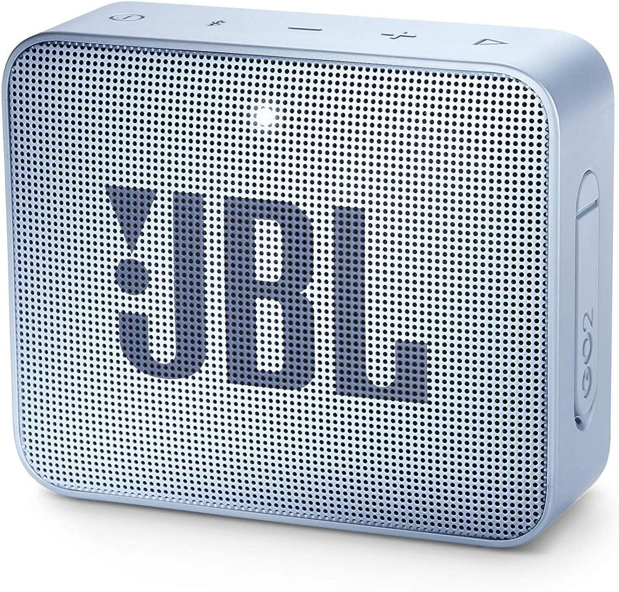 Jbl Go 2 Kleine Musikbox In Hellblau Wasserfester Portabler Bluetooth Lautsprecher Mit Freisprechfunktion Bis Zu 5 Stunden Musikgenuss Mit Nur Einer Akku Ladung Audio Hifi