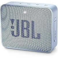 JBL GO 2 - Altavoz inalámbrico portátil con Bluetooth, resistente al agua (IPX7), hasta 5h de reproducción con sonido de alta fidelidad, cian