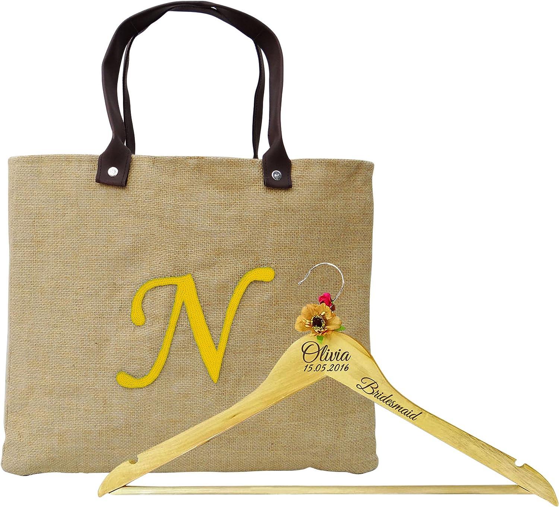 Sac-coton naturel Personnalisé-merci cadeau mariage demoiselle d/'honneur