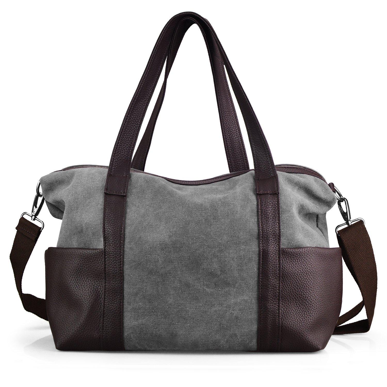 Canvas Handbags, JuguHoovi Crossbody Bags for Women Tote Bags Shoulder Bag Hobo Purse Handle Handbags