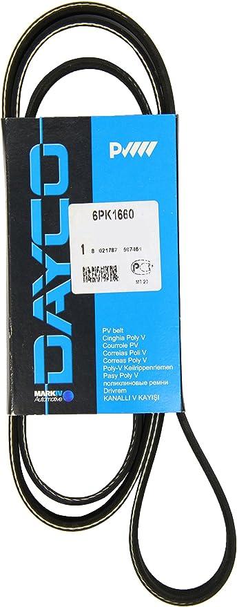 Dayco 6PK2160S Courroie Accessoire