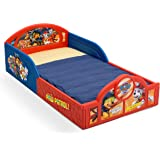 Delta Children Deluxe Nickelodeon Paw Patrol Toddler Bed with Attached guardrails