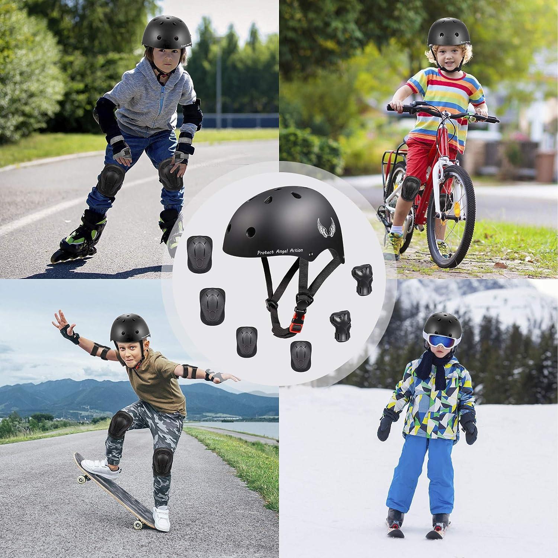 Orieta Kids Bike Helmet Toddler Helmet Adjustable Kids Helmet CPSC Certified Ages 3-8 Years Old Boys Girls Multi-Sport Safety Cycling Skating Scooter Helmet