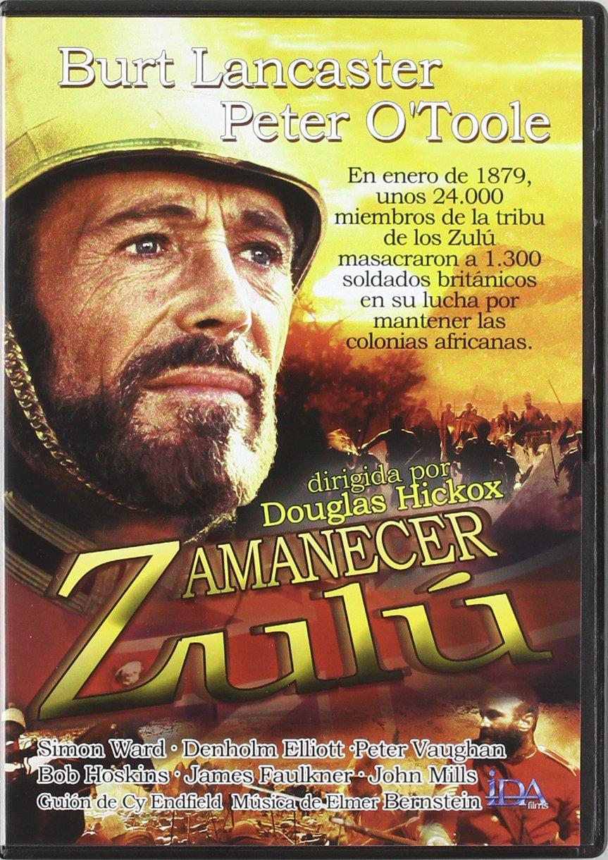 Amanecer Zulu [DVD]: Amazon.es: Burt Lancaster, Peter OŽToole, Simon Ward, Denholm Elliott, Peter Vaughan, James Faulkner, Douglas Hickox, Nate Kohn: Cine y ...