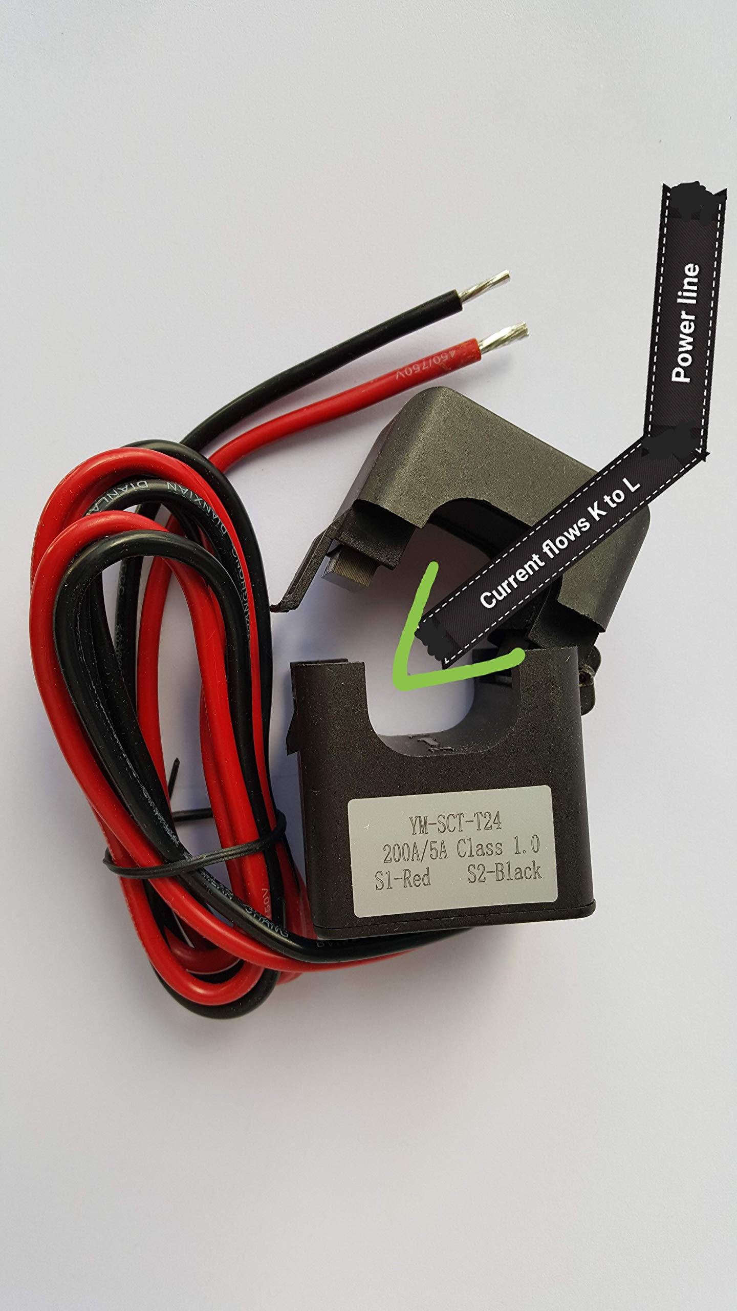 Smart energy meter 1 2 or 3 phase 120V/480V. 2x200:5 Amps included by BeyondTech.com (Image #9)