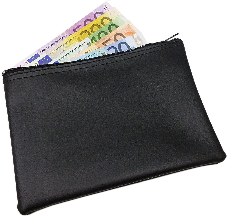 XL Pochette bancaire en noir