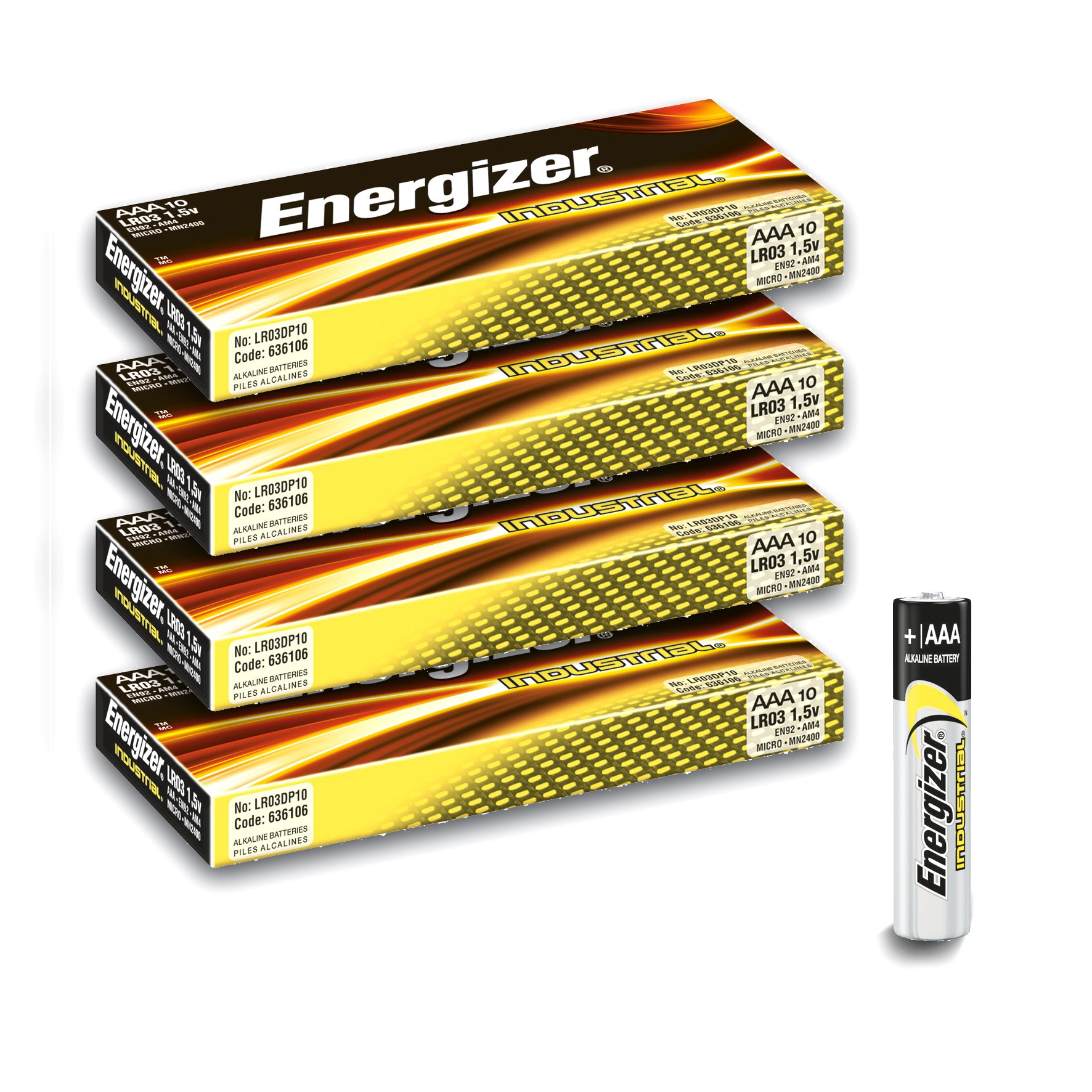 Units Per Case 144 Energizer AAA Cell ENERGIZER BATTERY EN92 by Energizer