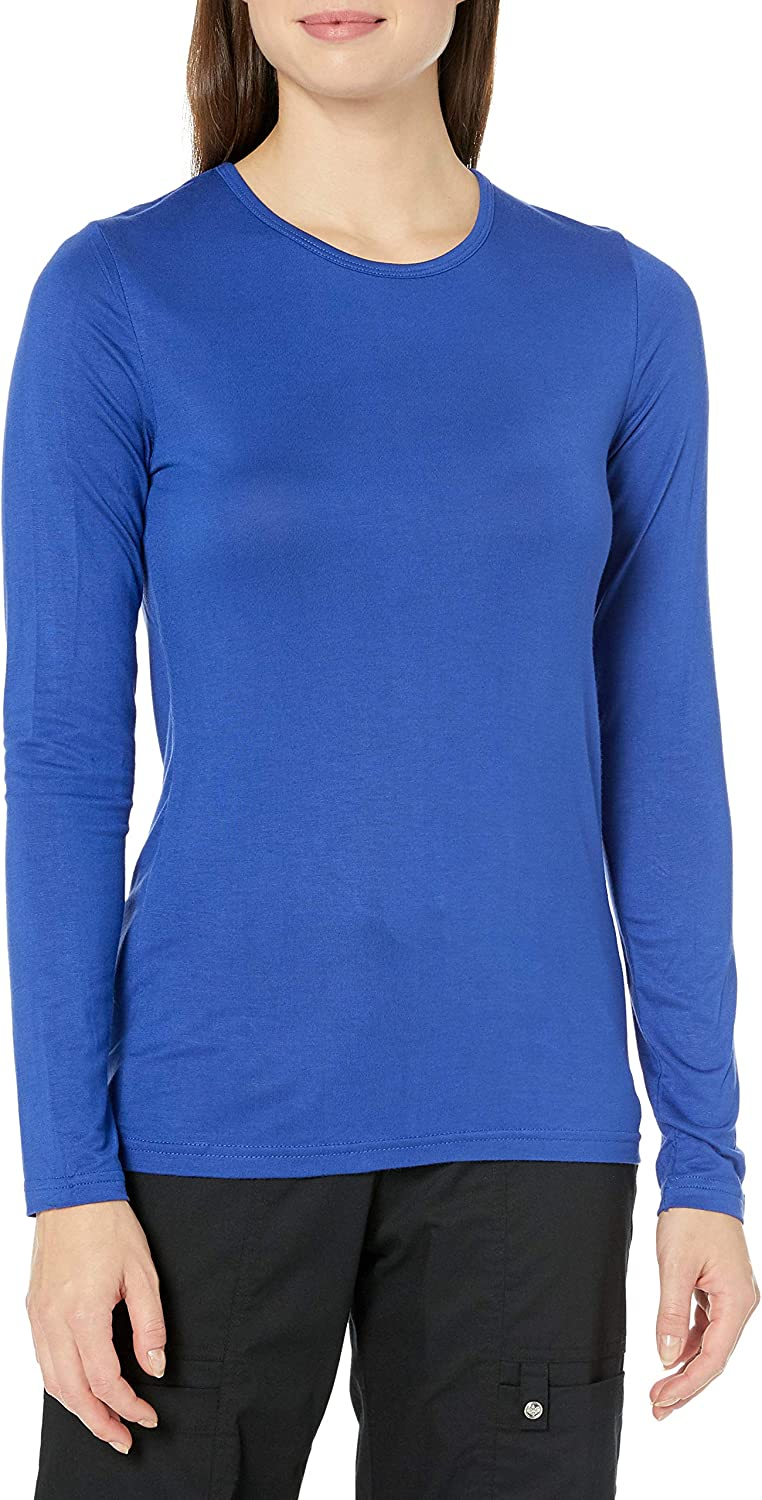 WonderWink Women's Scrubs Silky Long-Sleeve T-Shirt