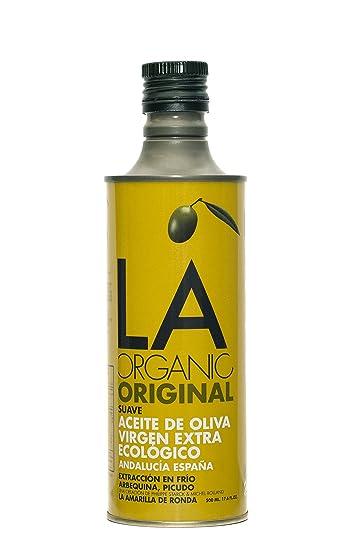 La amarilla de Ronda suave, el aceite de oliva, 16.9-ounce ...