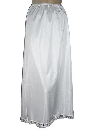 "Black Maxi Half Slip Size 20//22 32/"" Inch Length Anti Static Long Underskirt New"