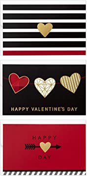 Variety Set of 8 Valentine/'s Day cards and envelopes