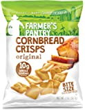 Farmer's Pantry Original Cornbread Crisps, Original, 2 Ounce (Pack of 8)