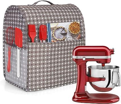 Viola Adatto per 5,6-7,5 Litri KitchenAid Robot da Cucina Luxja Borsa per KitchenAid Robot da Cucina e Accessori