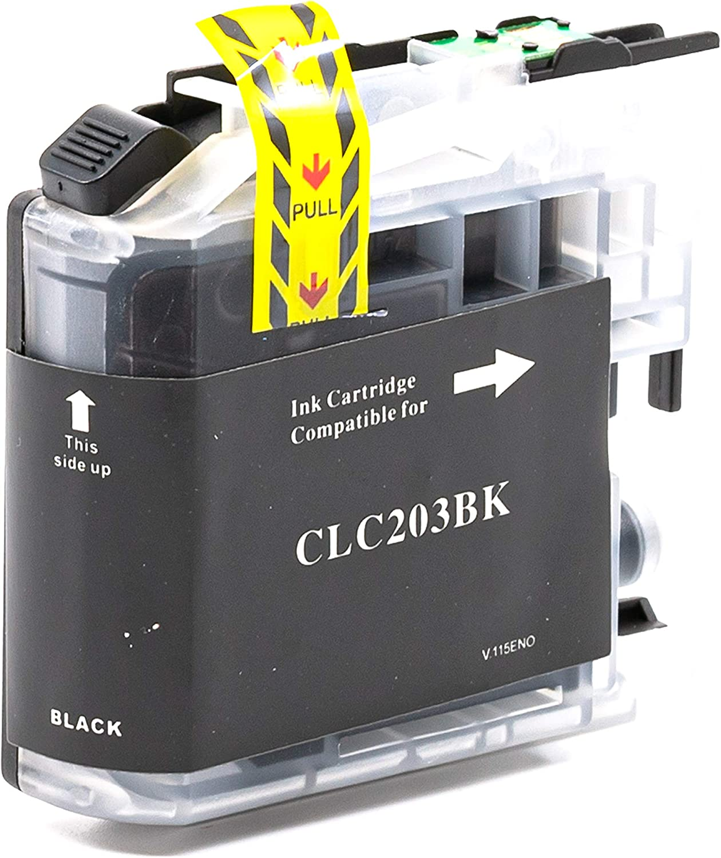 SuppliesOutlet Compatible Ink Cartridge Replacement for Brother LC205 LC205Y LC207BK LC207 LC205M C,M,Y,K,4 Pack LC205C