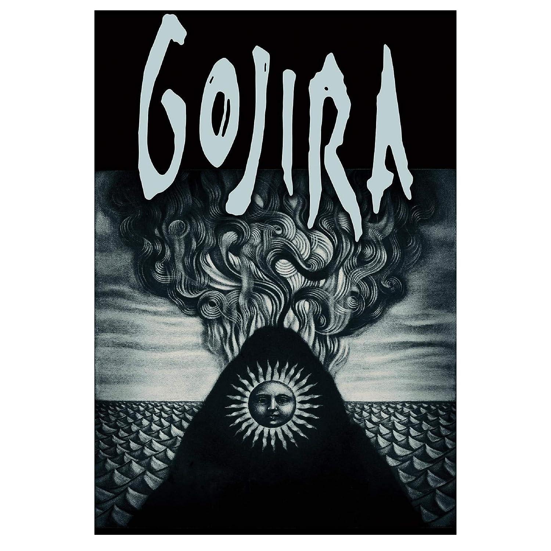 Gojira Magma Patch Mehrfarbig