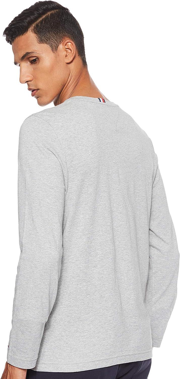 Tommy Hilfiger Corp Long Slv tee Camiseta de Manga Larga para Hombre