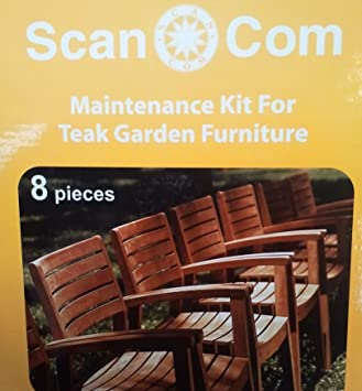 Teak Garden Furniture Maintenance Kit 8 Pieces. Teak Garden Furniture Maintenance Kit 8 Pieces   Amazon co uk
