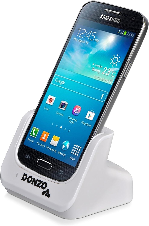 Donzo - Base de carga para smartphones Samsung blanco ohne ...