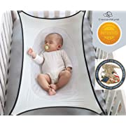 Crescent Womb Infant Safety Bed - Breathable & Strong Material That Mimics The Womb While Reducing The Environmental Risks Associated with Early Infancy, Grey