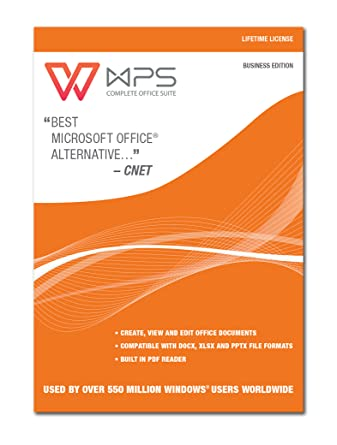 Amazon wps office business edition lifetime license wps office business edition lifetime license download reheart Image collections