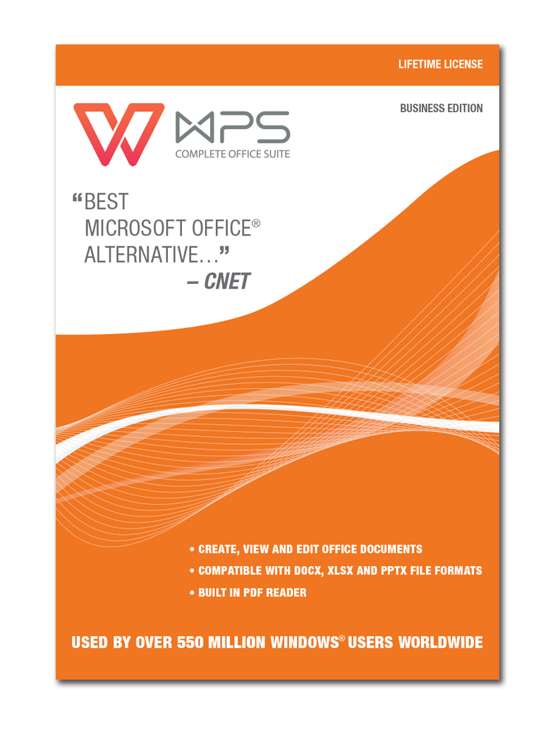 WPS Office - Business Edition (Lifetime License) [Download] by Kingsoft Office Software